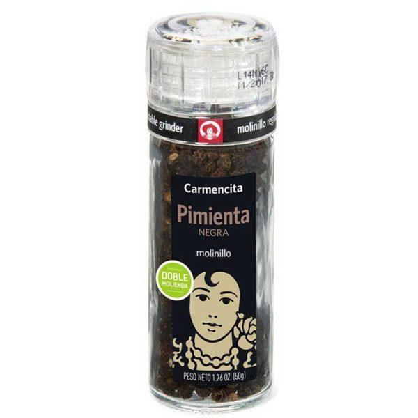 Pimienta Negra Carmencita Molinillo, 50 g