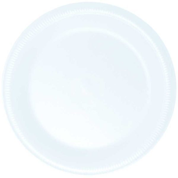 Platos Foam Desechables No.9 Plastifar, 25 uds