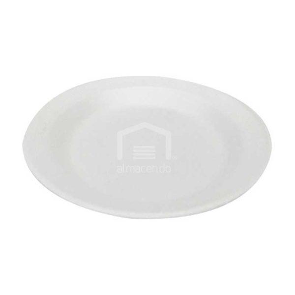 Platos Foam Desechables No.6 Plastifar, (40 x 25 uds)
