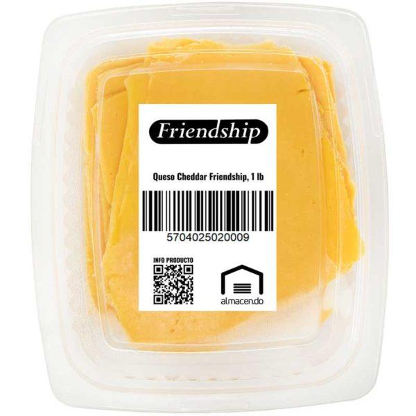 Queso Cheddar Friendship, 1 lb