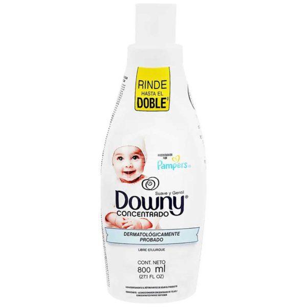 Suavizante Downy Suave y Gentil, 800 ml