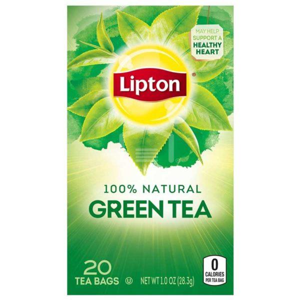 Té Lipton Green Tea, 20 uds