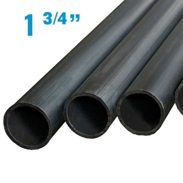 """Tubo Acero Negro de 1 3/4"""" Diametro x 1.55 mm de grosor"""