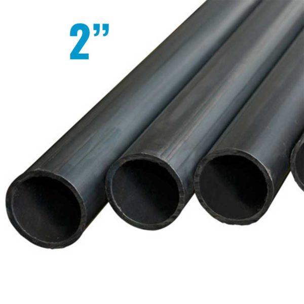"""Tubo Acero Negro de 2"""" Diametro x 1.55 mm de grosor"""