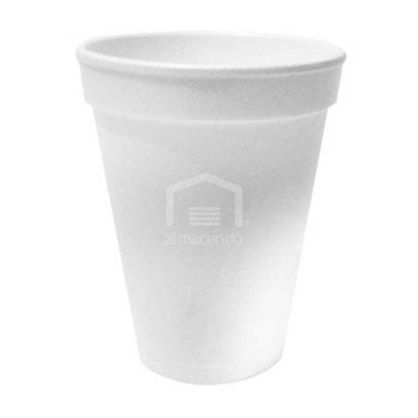 Vasos Desechables de Foam 10 oz Plastifar, Caja (40 x 25 uds)
