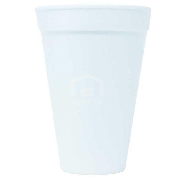 Vasos Desechables de Foam 12 oz Plastifar (25 uds)