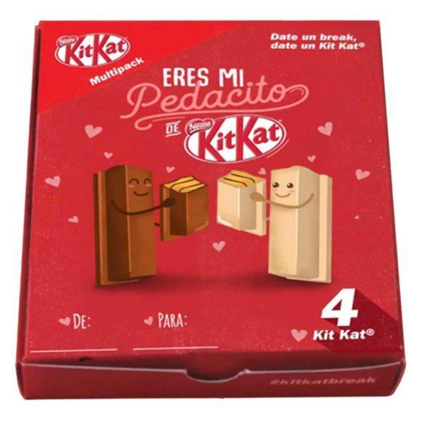 Chocolate Nestlé Kit Kat San Valentin (4 uds x 41.5 g)