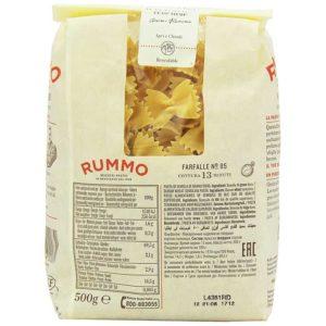 Pasta Rummo Farfalle Nº 85, 1.1 lb