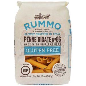 Pasta Rummo Penne Rigate Nº 66 Gluten Free, 400 g