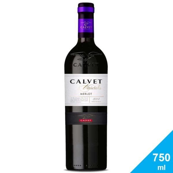 Vino Tinto Calvet Varietals Merlot, 750 ml