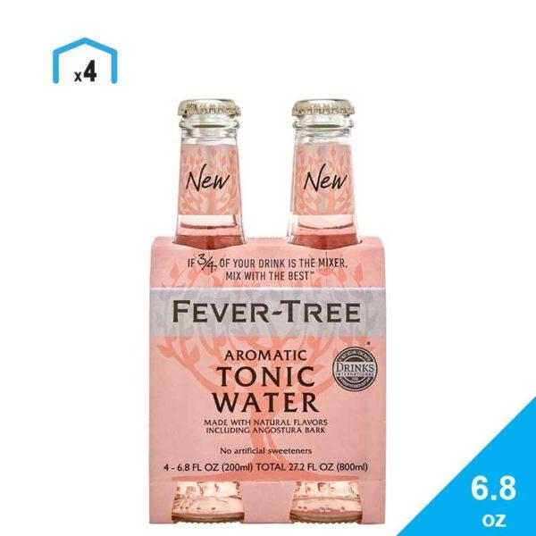 Agua Tónica Aromática Fever-Tree, 6.7 oz (4 pack)