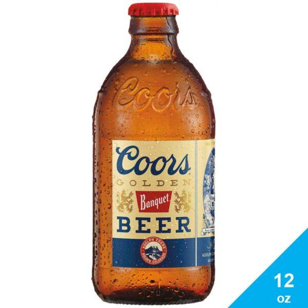 Cerveza Coors Golden Banquet, 12 oz