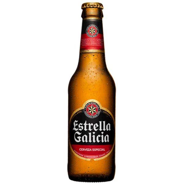 Cerveza Estrella Galicia World Lager, 11.2 oz