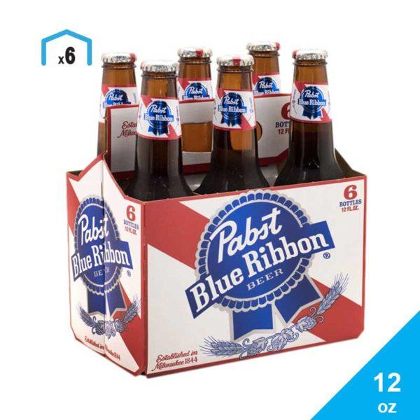 Cerveza Pabst Blue Ribbon, 12 oz