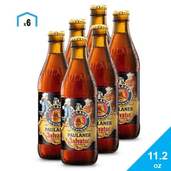 Cerveza Paulaner Salvator, 11.2 oz