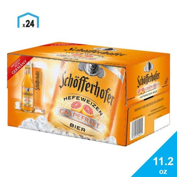 Cerveza Schöfferhofer Grapefruit, 12 oz
