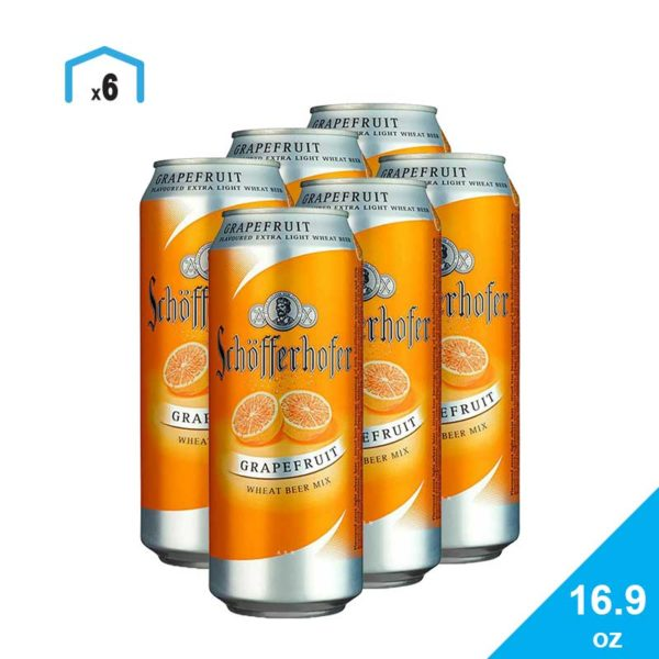 Cerveza Schöfferhofer Grapefruit, 16.9 oz