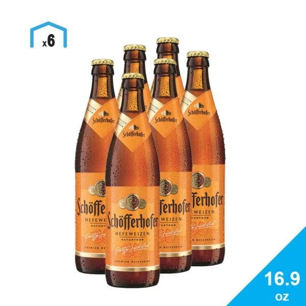 Cerveza Schöfferhofer Naturtrub, 16.9 oz