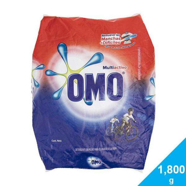 Detergente OMO Multiactivo, 1,800 g