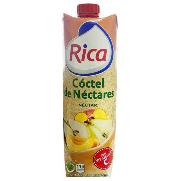 Jugo Cóctel de Néctares Rica, 1 L