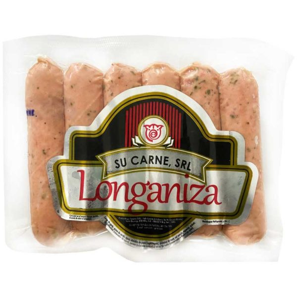 Longaniza Gruesa Su Carnes, 1 lb
