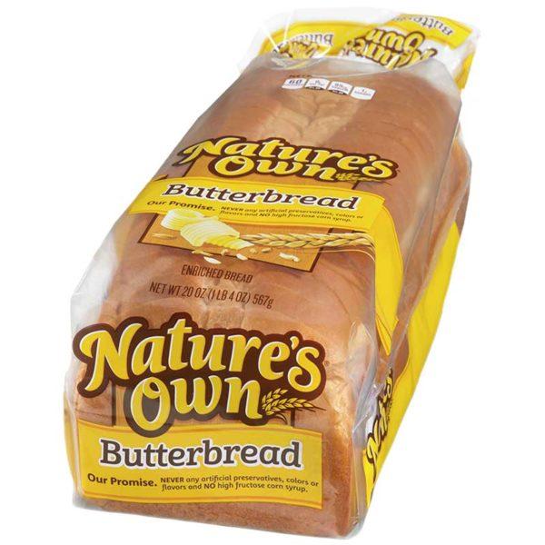 Pan de Mantequilla Nature's Own, 20 oz