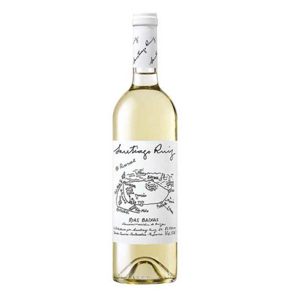 Vino Santiago Ruiz Albariño, 750 ml