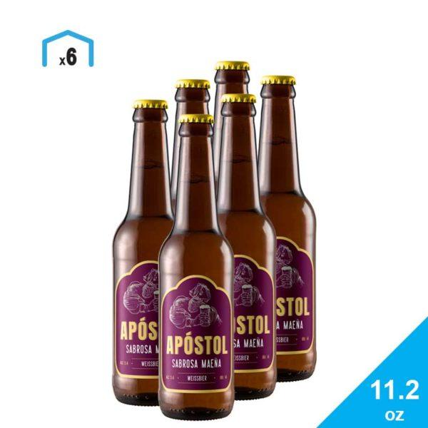 Cerveza Apóstol Sabrosa Maeña, 11.2 oz
