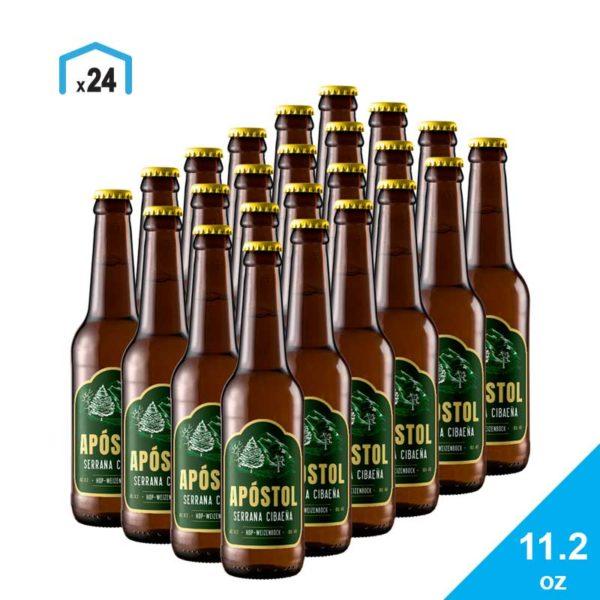 Cerveza Apóstol Serrana Cibaeña, Caja 11.2 oz