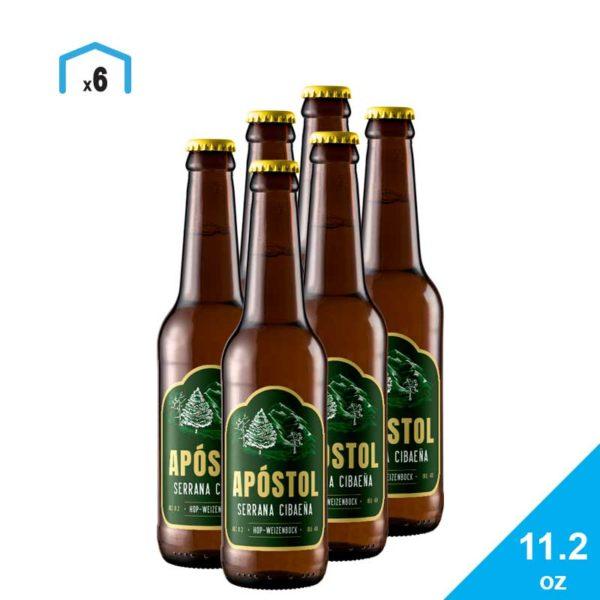 Cerveza Apóstol Serrana Cibaeña, 11.2 oz (6 pack)