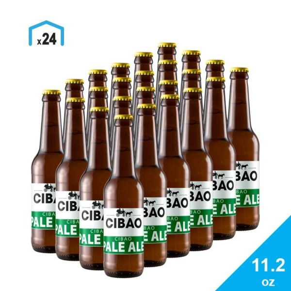 Cerveza Pale Ale Cibao Brewing, 11.2 oz