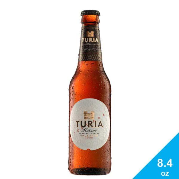 Cerveza Turia Tostada Valencia, 8.4 oz