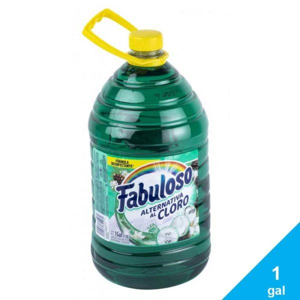 Desinfectante Fabuloso Alternativa al Cloro Pino, 1 gal