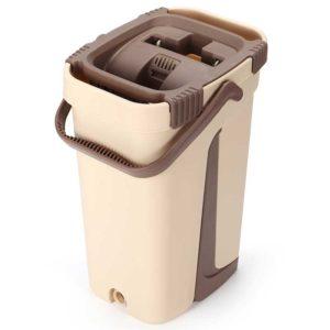Suaper Microfibra con Cubeta de Limpieza Automática