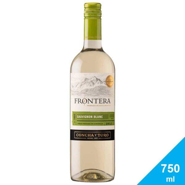 Vino Tinto Frontera Sauvignon Blanc Chile 2019, 750 ml