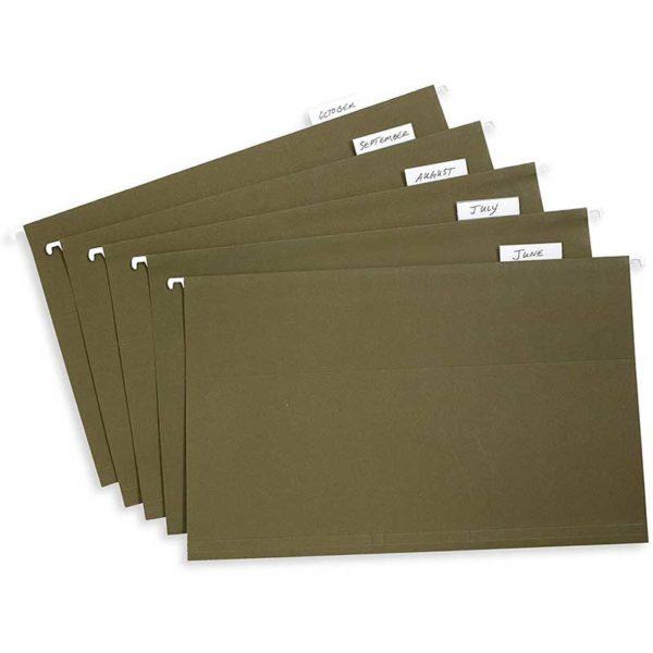 Carpeta para Colgar Archivos Verde Legal (25 uds)