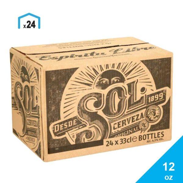 Cerveza Sol, 12 oz