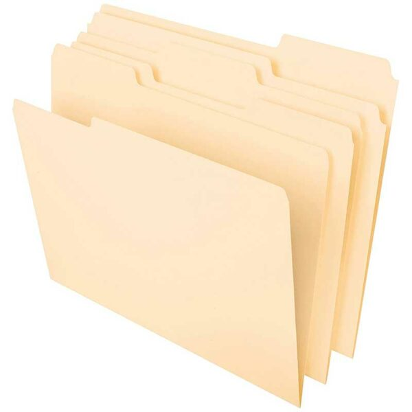 "Folders Manila 8.5"" x 11"" (100 uds)"