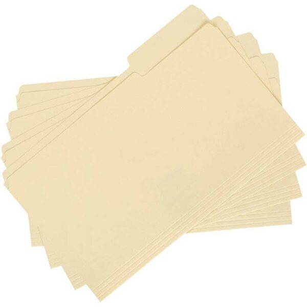 Folders Manila Legal (100 uds)