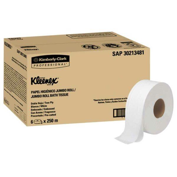 Papel Higiénico Kleenex Jumbo Roll Smell Clean 820' (6 uds)