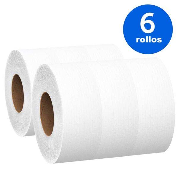 Papel Higiénico Scott Basic Jumbo Roll Smell Clean 1640' (6 uds)