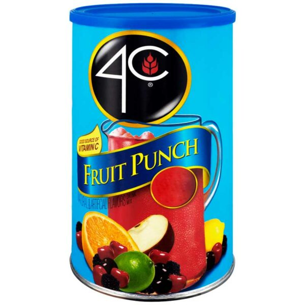 4C Fruit Punch Mix, 4 lbs
