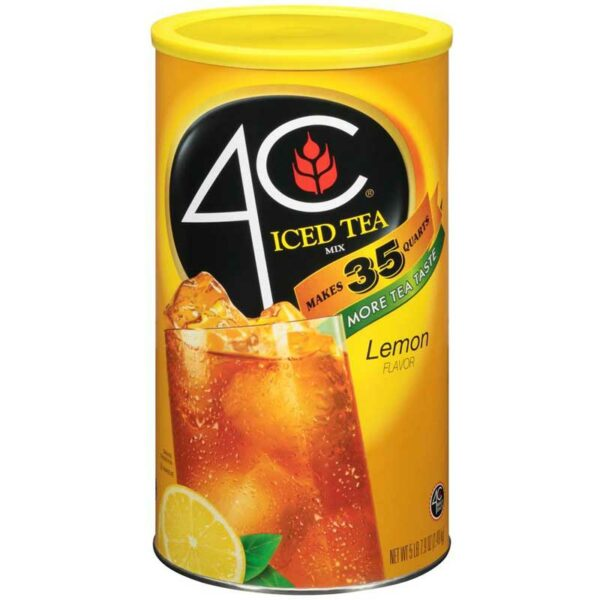 4C Limón Iced Tea Mix, 5 lbs