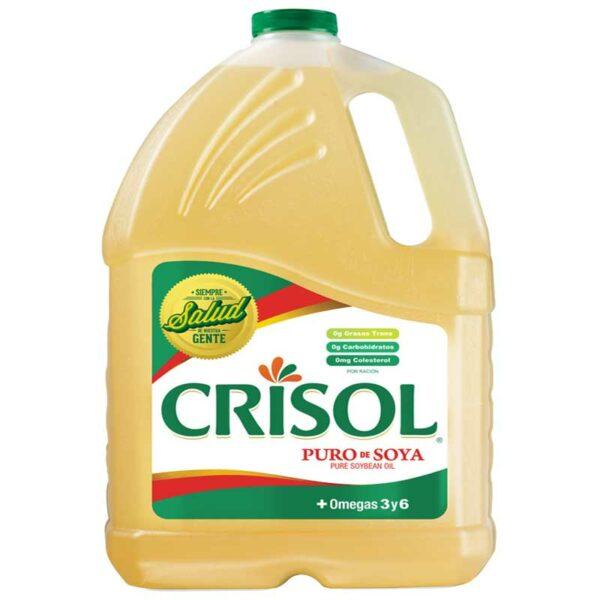 Aceite Crisol Puro de Soya, 2 uds x 250 oz