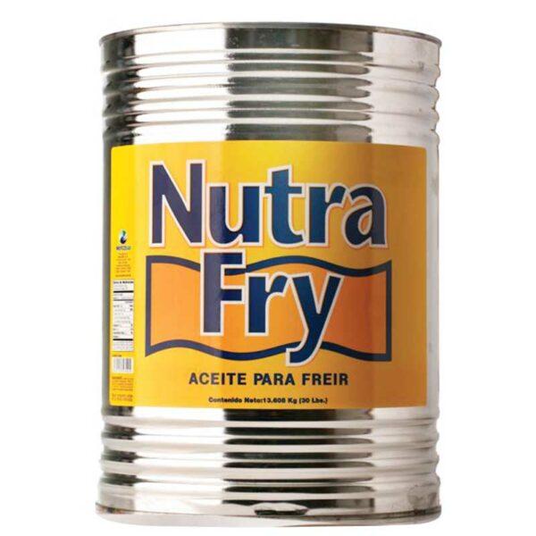 Aceite Nutra Fry para Freir, 30 lbs
