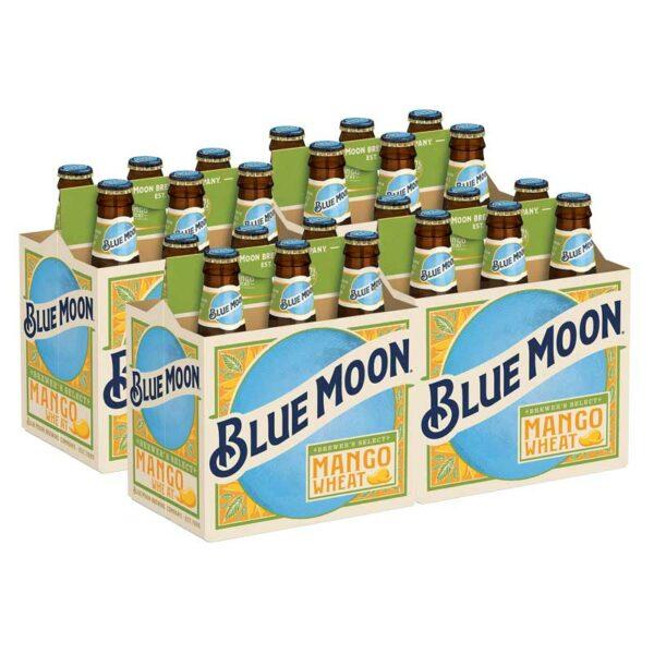 Cerveza Blue Moon Mango, 12 oz