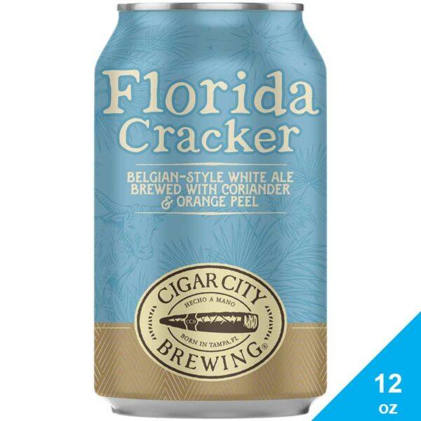 Cerveza Cigar City Florida Cracker White Ale, 12 oz