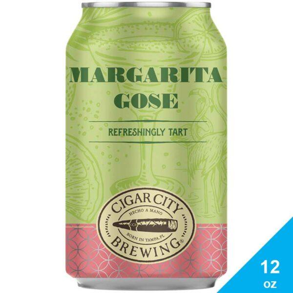 Cerveza Cigar City Margarita Gose Refreshingly Tart, 12 oz