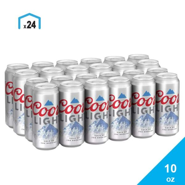 Cerveza Coors Light, 10 oz