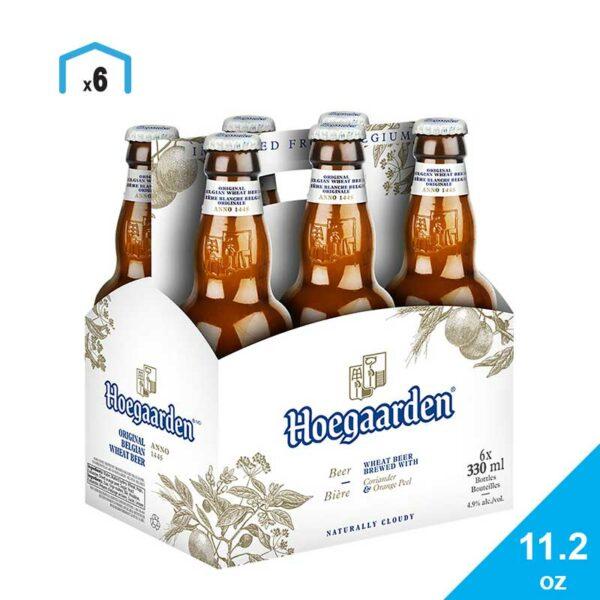 Cerveza Hoegaarden Witbier, 12 oz